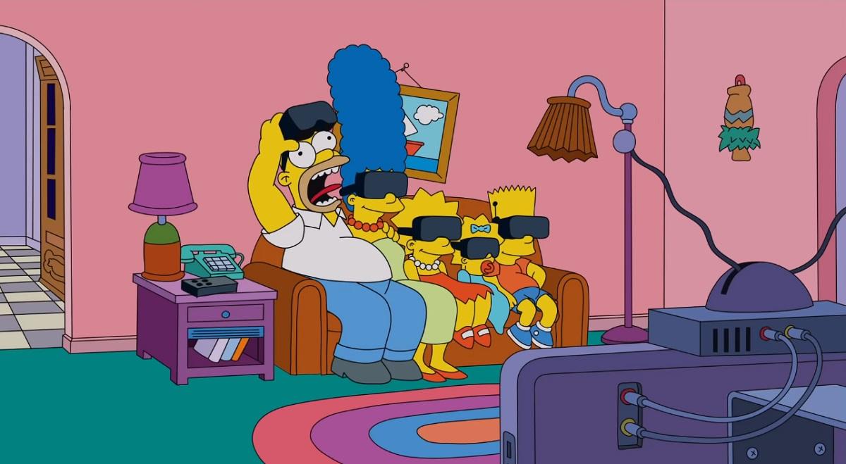 Мужчина совершил Прыжок веры в VR-очках. Правда, от этого пострадал реальный телевизор и психика других людей