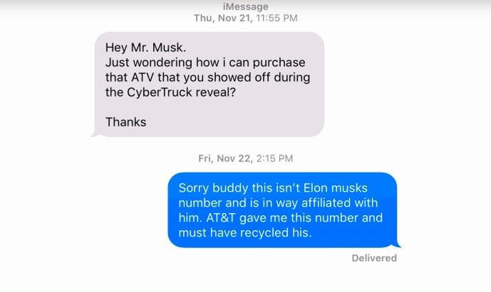 Девушке стали приходить смс от незнакомцев со странным содержанием, но объяснение есть. Им нужен Илон Маск