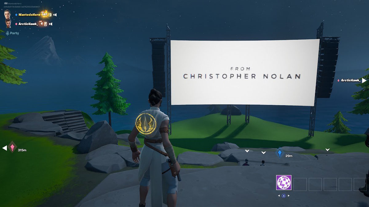 Fortnite показал премьерный трейлер фильма Кристофера Нолана. И у режиссёра есть ещё один сюрприз для игроков