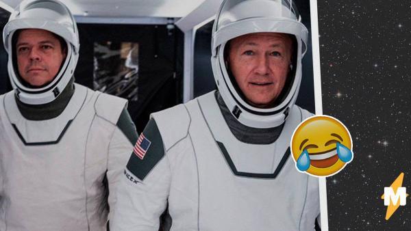 NASA перенесли полёт астронавтов на корабле SpaceX на МКС. Россияне уверены - всё из-за Маска и его костюмов