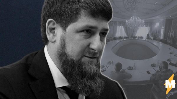 Рамзан Кадыров выложил в свой телеграм фото с совещания. Слухи о его болезни, похоже, были преувеличены