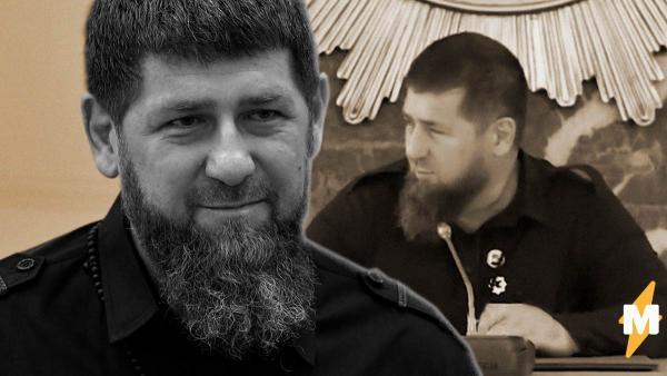 У Кадырова заметили катетер на видео с недавнего совещания. Глава Чечни прятал руку, но в один момент забылся
