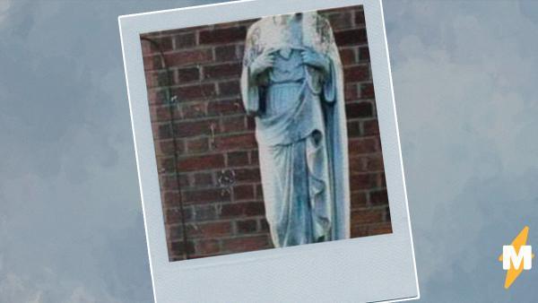 Жители Дублина почистили статую Девы Марии и не узнали её. Оказалось, на них годами взирала вовсе не Мадонна
