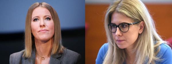 Дебаты Ксении Собчак и Любови Соболь угодили в мемы. Зрители увидели сходство женщин и не смогли остановиться