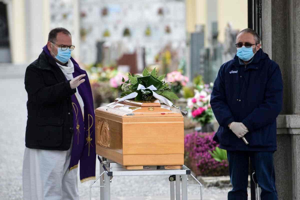 Как проходят виртуальные похороны