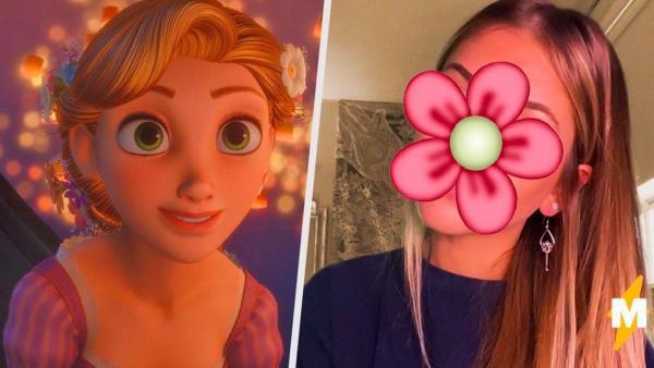 Студентка из США - идеальная копия Рапунцель от Disney. Люди уверены: девушка должна cыграть принцессу в кино