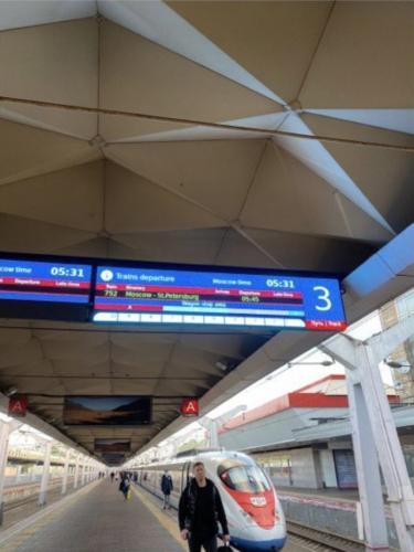 Девушка с симптомами COVID-19 пробралась на поезд до Санкт-Петербурга. Но нарушительницу уже нашли в твиттере
