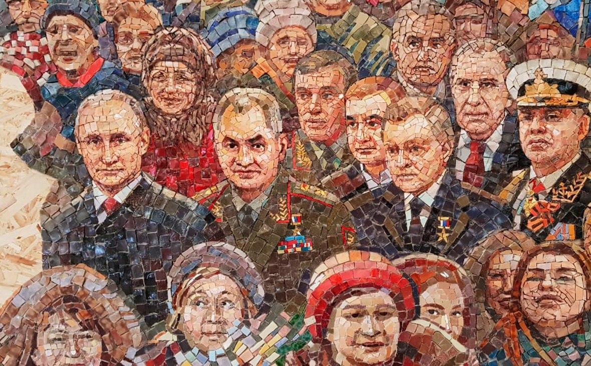 Мастера храма Минобороны послушались Путина. Мозаику с президентом убрали – но тема Крыма все ещё раскрыта