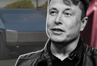 Илон Маск впервые показал Cybertruck при свете дня. Тест-драйв он прошёл на ура, но в конце чуть не застрял