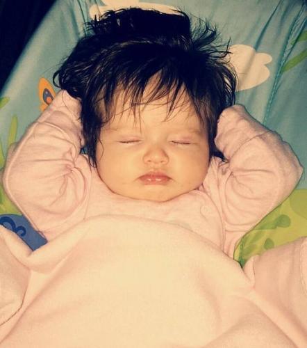Найдена истинная Рапунцель. Она ещё в утробе матери отрастила такие волосы, что поставила в ступор акушеров