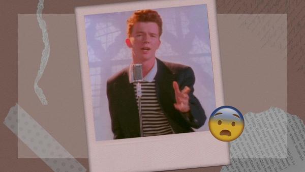Парень запостил фото, и люди удивились, как он похож на певца из мема rickroll. Но упс - это он и был