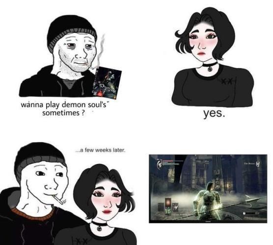 Думер из мемов наконец пригласил свою девушку домой. Но в обители депрессивного вояка тот ещё ад