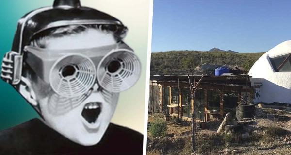 Супруги построили инопланетный дом мечты. И, глядя на него, трудно поверить, что он сделан из мусора со свалки