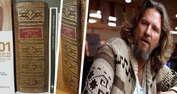 Парень показал древнюю книгу, и люди уверены - читать взахлёб её очень опасно. Ведь это нычка типичного бати