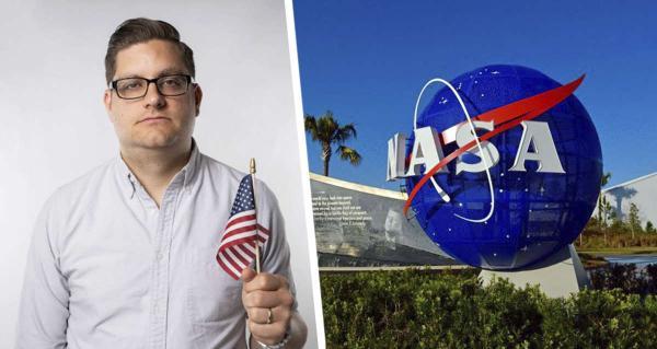 Комик искренне мечтал полететь на Луну и обратился в NASA. Ответ пришёл, но он лишь показал чей юмор - космос
