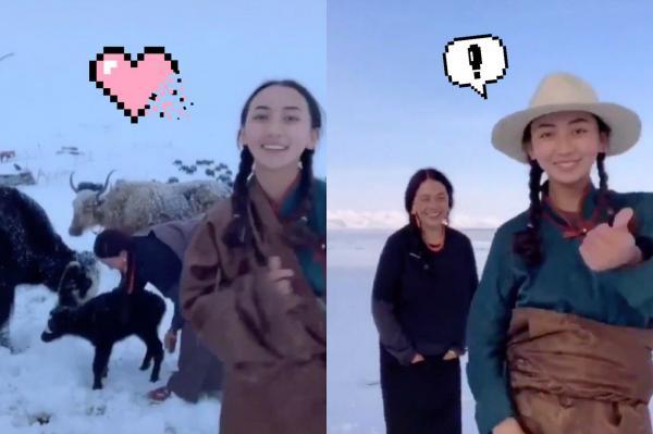 Девушка снимает красивые видео о жизни в Тибете. Но подписаться на неё нельзя - она живёт в пареллельном мире