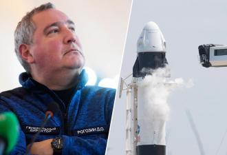 «Роскосмос» опять обругал корабль Crew Dragon. Особенно Илону Маску досталось за плохие туалеты