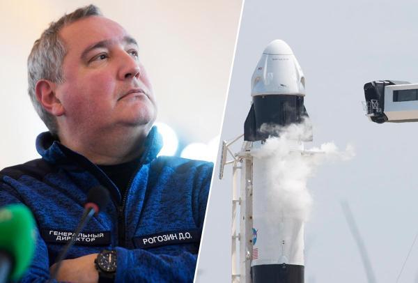 """""""Роскосмос"""" опять обругал корабль Илона Маска. Особенно досталось за туалеты"""
