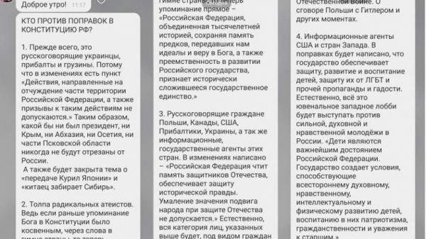 Трансгендеры и трансформеры против поправок в Конституцию. Учительница из Саратова объяснила суть голосования