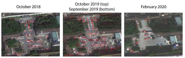 Больницы Уханя забились осен 2019-го. Снимки со спутников намекают, что жителей уже мог мучать COVID-19