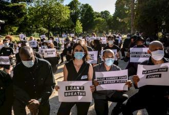 На видео из Парижа - бунт по американскому образцу. Франция вспомнила дело, слишком похожее на убийство из США