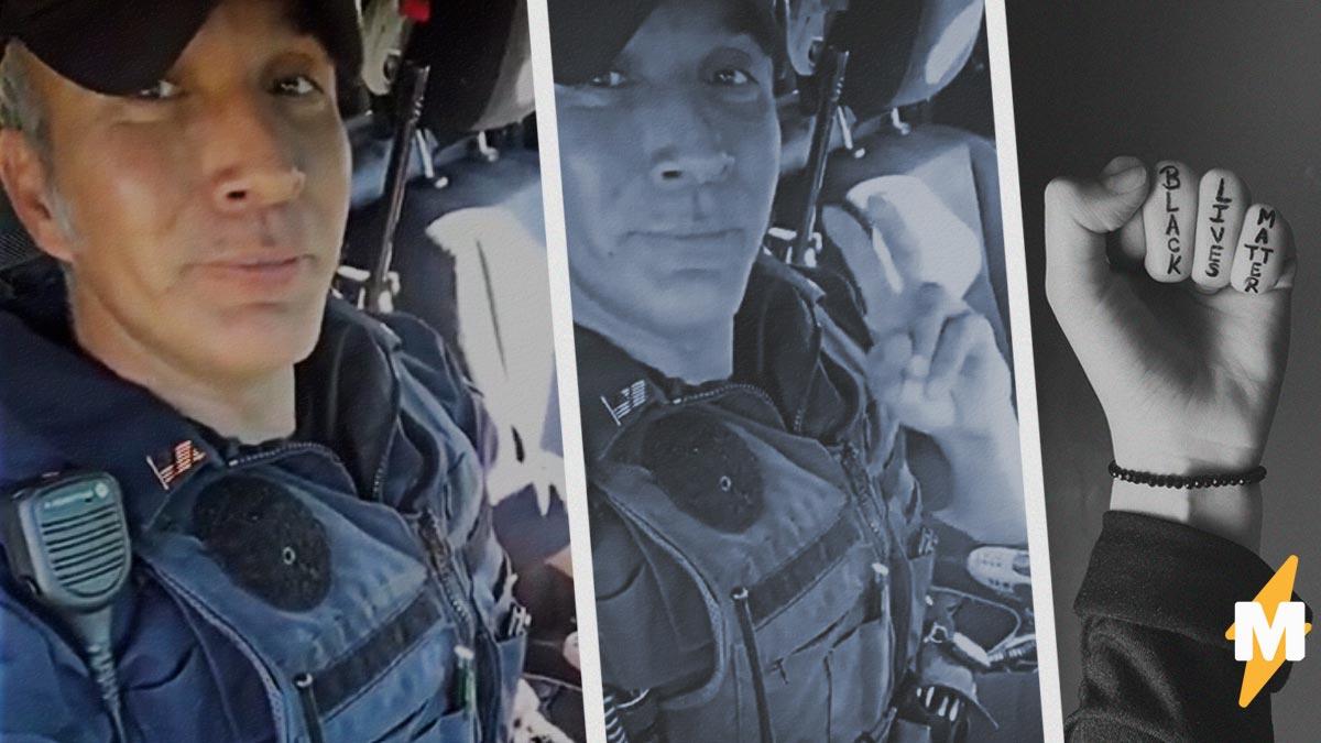 Противники полиции из США просят защиты – у полиции. Это насмешило офицера, но не его подписчиков в TikTok