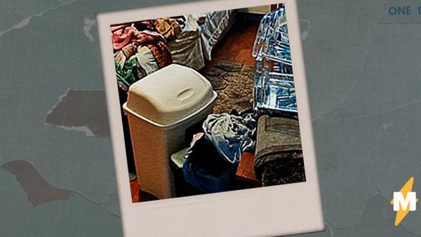 Девушка показала, что будет, если годами не выбрасывать мусор. Фото из комнаты в её доме - ад перфекциониста
