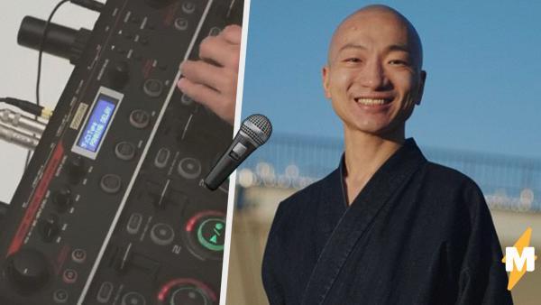 Буддийский монах совместил религию с музыкальным творчеством. И создаёт треки, помогающие людям достичь дзена