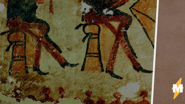 На стенах дома в Гватемале учёные нашли древние рисунки майя. Они танцуют запрещённый танец