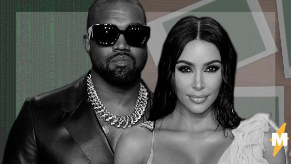 """Ким Кардашьян и Канье Уэст выложили фото и угодили в мемы. Твиттер гадает - это реклама диванов или """"Матрицы"""""""