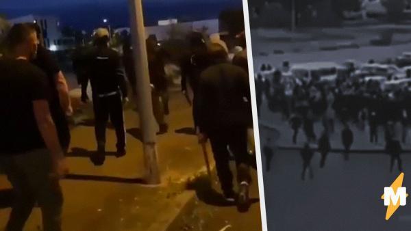 На видео из Франции чеченцы съехались на войну с наркоторговцами. Поводом для драк стало избиение подростка