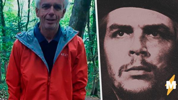 Мужчина гулял по лесу и наткнулся на самого Че Гевару. Тот был на дереве и пытался замаскироваться под женщину