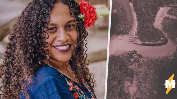 Девушка волосами показала, как жарко в её стране - на Соломоновых Островах. Вышел почти лайфхак по завивке