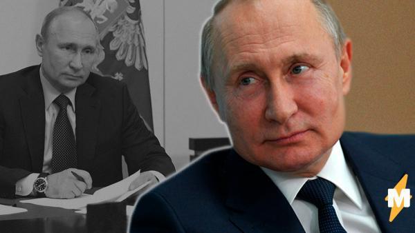 «Интернет листает, закладки». Владимир Путин перебрал бумаги на рабочем столе