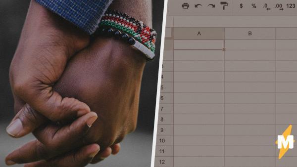Девушка создала список с именами и обвинила людей в расизме. Но донести может каждый, достаточно скриншота