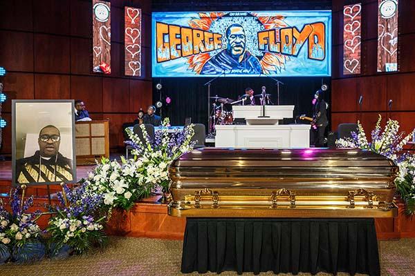 Онлайн-игры уходят в офлайн в память о Джордже Флойде. В Америке прошли его похороны