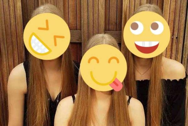 Тройняшки ломают людям мозг своей внешностью. Сёстры так идентичны, что их фото - подтверждение сбоя в матрице