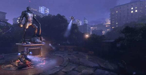 Создатели игры про Мстителей извинились за рекламу с памятником Капитану Америке. Зря,
