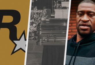 Сетевые игры объявили траур по Джорджу Флойду. Америка простилась с жертвой полицейского насилия офлайн