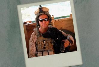 Собачья жизнь на войне и после. Как пёс-ветеран Блу нашёл свою семью, пройдя по бомбам Афганистана