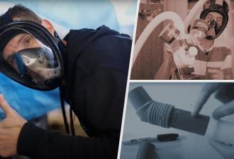 Парень создал респиратор, который спасает от дыма при пожаре. Ему понадобились лишь гора хлама и смекалочка