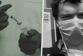 Британский журналист рассказал, что бывает после вакцины от COVID-19. Его главный симптом - паранойя