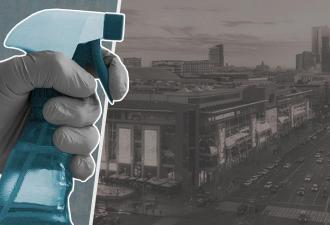 """Как работают торговые центры в Москве с 1 июня. Обработка на входе такая, что герои """"Чужого"""" позавидуют"""