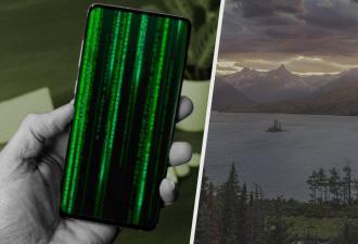 Обои для Android с закатным озером разошлись по Сети. Фото выглядит безмятежным, но на самом деле оно проклято