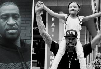 «Папа изменил мир». На видео шестилетняя дочь убитого Джорджа Флойда горда, что отец подтолкнул людей к борьбе