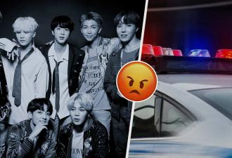 Фаны k-pop разозлились на полицию из-за