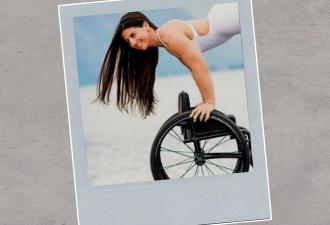Девушка без ног показала акробатические приёмы. Старания не оценили, ведь мужчин интересует только один вопрос
