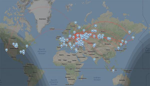 «Аэрофлот» обошёл запрет на международные перелёты. Оказалось, что сделать это было совсем не сложно