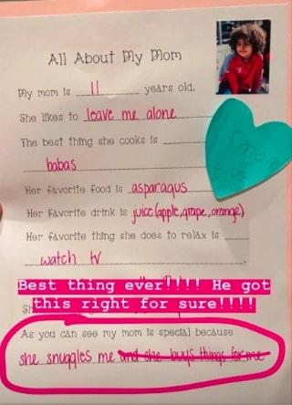 Ким Кардашьян - 11 лет, и она любит оставлять 4-хлетнего сына одного. Так думает чадо модели, и она удивлена