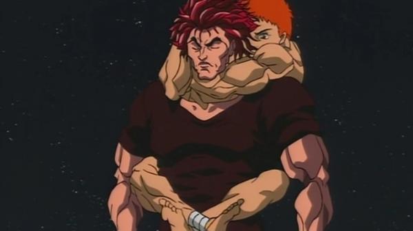 Мужчин почти не отличить от его прототипа-качка со страниц манги. Он вдохновлялся героем, но перестарался